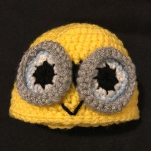 Other - Crochet Minion beanie and diaper cover -Newborn